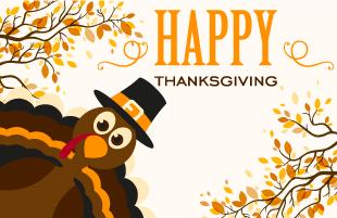 Thanksgiving Break / Feriado de Día de Gracias