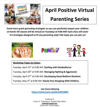 Positive Virtual Parenting Series