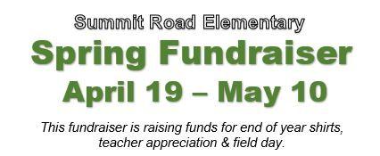 Spring Fundraiser Info