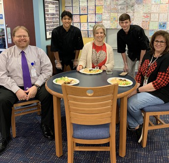 District Administrators Attend Luncheon