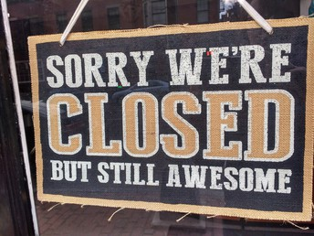 Closed July 1st - July 5th
