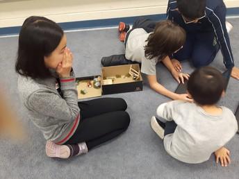 With Kindergarten Friends