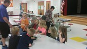 Super Seniors Visit Kindergarten Students!