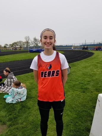 Hannah Beardsley IESA State Track Champ