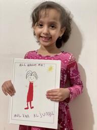Congratulations to Mulkah Aljumail, a kindergarten student in Mrs. Timocko´s class!