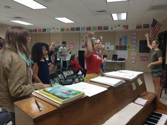 8th grade Choir!