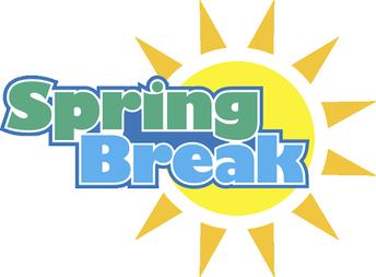 Spring Break March 9th-13th: NO school