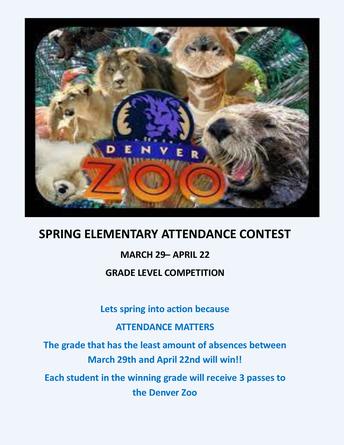 Elementary Attendance Contest