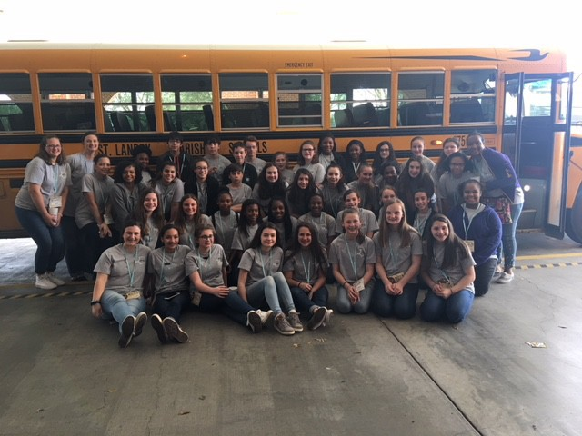 The EJHS Beta Club attended the Jr. Beta Convention at the Cajun Dome on Thursday, February 22nd.
