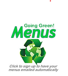 School Lunch Menus are 'going green'!