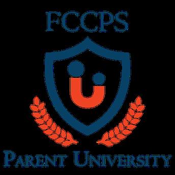 FCCPS Parent University Logo Image