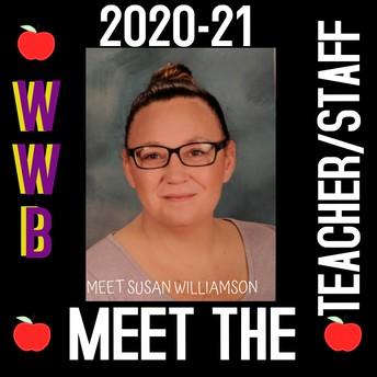 Ms. Williamson, 1st Grade Teacher