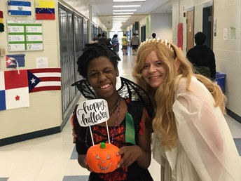 Halloween at Carver MS!