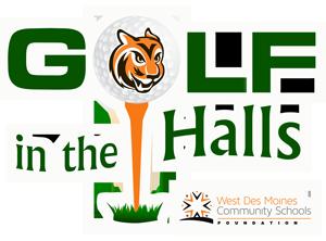 Golf in the Halls logo