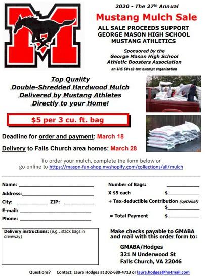 GM Mulch Sale Flyer