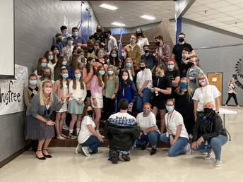8th grade Outsider's Day was awesome!