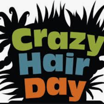 January 29th Spirit Day: Crazy Hair Day!