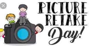 Picture Re-take Day - Friday, February 5th 1:00 - 3:00 p.m.