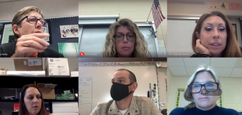 Science Teachers Meet Virtually to Collaborate