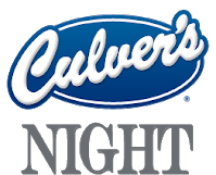 CULVER'S NIGHT- JANUARY 29TH