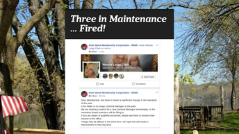 Three In Maintenance Fired