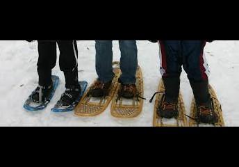 Snowshoeing at Bridgewater