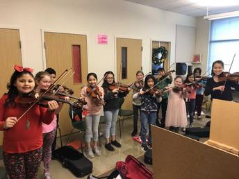 Concierto de violinistas de MYS