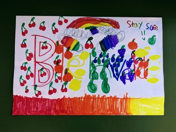 Kids Care students are excited to welcome their peers back to campus April 12th!