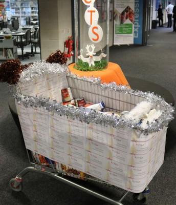 Christmas Showcase Food Bank Donations