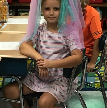 The bride of Minnie Mouse takes a 1st grade spelling test!