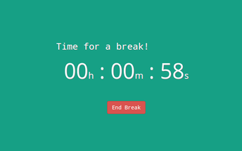 Take A Break Chrome Extension! - Click the image above!