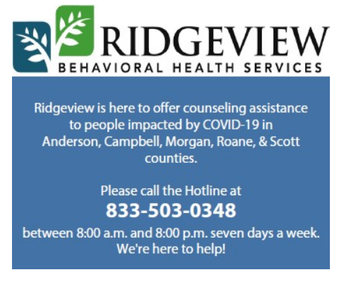 Ridgeview Behavioral Health Resources and Podcast