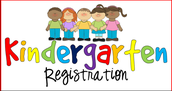 Kindergarten Registration- March 7th & 8th