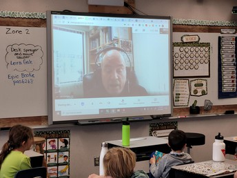 2L has a virtual visit with Fr. Jim