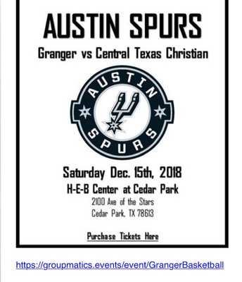 Annual Night at the Spurs Game