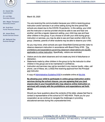 GC Online eLearning Confidentiality Statement