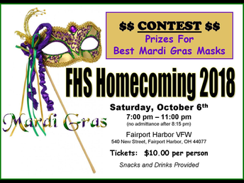 Mardi Gras Homecoming