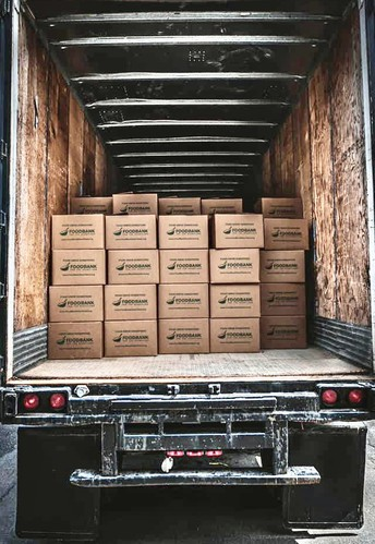 Food Drive in Partnership with FoodBank for the Heartland and Ronco Construction