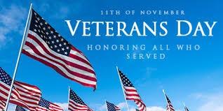 Virtual Veteran's Day Reception