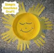 Sun Handprint