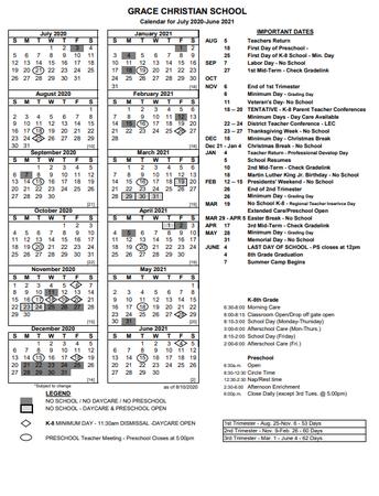 Click here for printable school calendar.