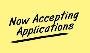 Applications for School Year 2019 - 2020