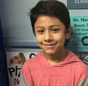 William Molina,  MYP Year 1, Grade 6
