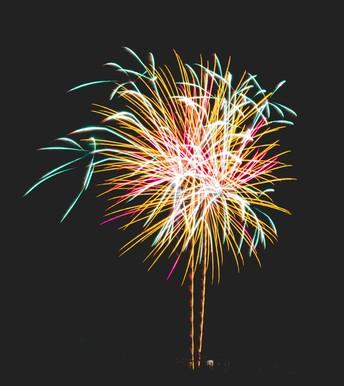 Fireworks on June 26!