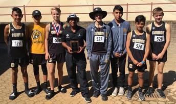 Freshman Boy's Team 3rd Place