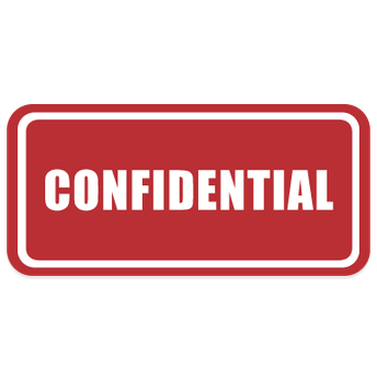 Confidential Resource Checklist