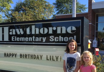 Rent the Hawthorne Sign - Your Kids Will Love It!
