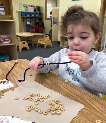 Practicing our Fine motor and Hand-Eye Coordination Skills