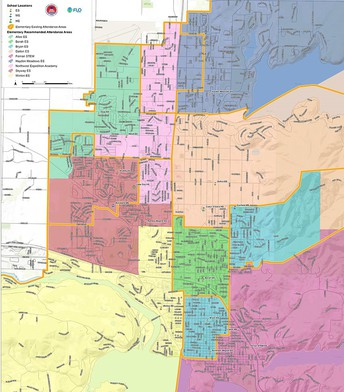 Proposed attendance zone changes for elementary, high schools out for final review