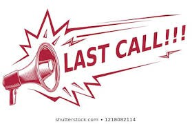 Absolute LAST CALL
